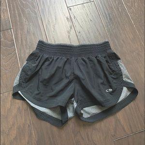 (NWOT) Champion // Black and Grey Athletic Shorts